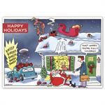 HP16319 - N6319 Holiday Policy Insurance Holiday Cards 7 7/8 x 5 5/8