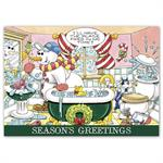 HP16320 - N6320 Happy Plumbing! Holiday Cards 7 7/8 x 5 5/8