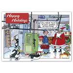 HP16323 - N6323 Warm In No Time Holiday Cards 7 7/8 x 5 5/8