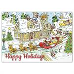 HP16326 - N6326 Holiday Builders Cards 7 7/8 x 5 5/8