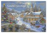 HP3316T Christmas Dream Budget Holiday Cards 7 7/8 x 5 5/8