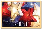 HPC1002 Patriotic Christmas Postcards