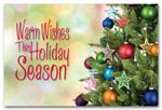HPC1204 Classic Wishes Holiday Postcard