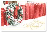 HPC1205 Holiday Posts Holiday Postcard