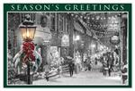 HPC5205 - NN5205 Main Street Glow Holiday Postcards 6 x 4