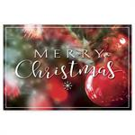 HPC6206 - N6206 Bold & Merry Christmas Post Cards 6 X 4