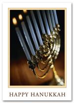 HS09018 Menorah Memories Hanukkah Cards