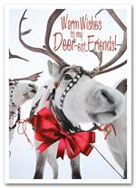 HS1314 Sleigh Team Holiday Card