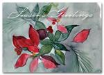 HS1316 Seasonal Flora Holiday Card