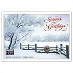 MT14041 Sugar Branches Holiday Logo Cards 7 7/8 x 5 5/8