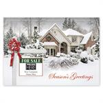 MT15029 New Joy Real Estate Holiday Logo Cards 7 7/8 x 5 5/8