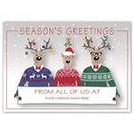 MT16012 Happy Sweater Crew Holiday Logo Cards 7 7/8 x 5 5/8