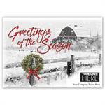 MT16019 Country Greetings Holiday Logo Cards 7 7/8 x 5 5/8