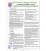 PRV4 Notice of Privacy Practices HIPAA Poster Personalized 11 x 17