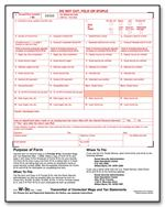 TF5309 2016 Laser W-3C Transmittal of Corrected Income 8 1/2 x 11