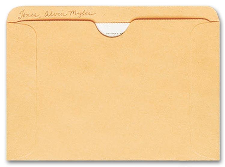 1643 Straight Tab Card File Pocket Buff 4 1 2 X 6 1 8