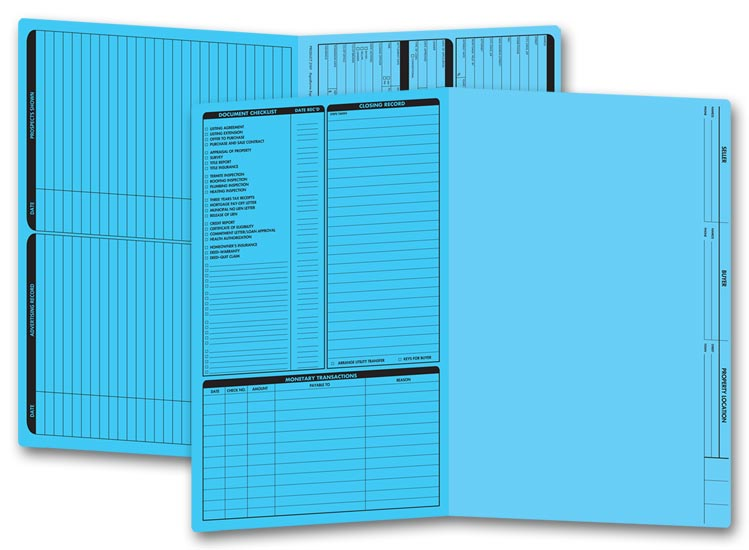 286b Real Estate Folder Left Panel List
