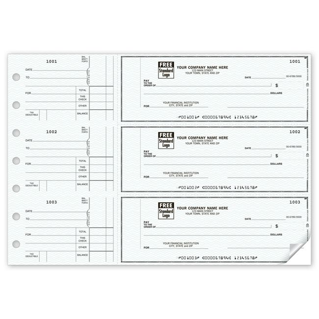 3-to-A-Page Checks 53221N Counter Signature