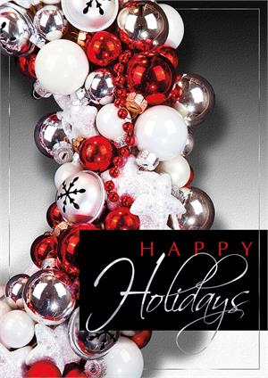 "H08648 Jingle Bell Time Holiday Cards 5 5/8"" x 7 7/8"""