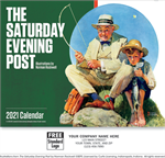 109379 2021 The Saturday Evening Post Wall Calendars 11 x 19