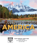 109382 2021 Landscapes Of America Miniature Calendars 6 x 13