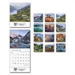 109383 2019 Glorious Getaways Miniature Calendars 6 x 13