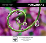 109619 2021 Motivations Wall Calendar 11 x 19