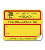1200C Jumbo Padded Mailing Label with Special Wording 4 3/4 x 3 3/4