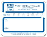 1546A Jumbo Mailing Labels w/