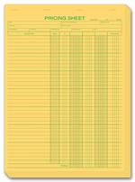 235 Pricing Sheets 8 1/2 x 11