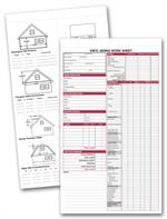 257 Vinyl Siding Work Sheet 8 1/2 x 14