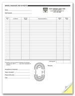 4053 Dental Diagnosis and Estimate Forms 2 Part 8 1/2 X 11