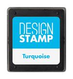 407004 Turquoise Ink Pad for Design Stamp 1 3/4 x 2