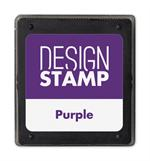 407007 Purple Ink Pad for Design Stamp 1 3/4 x 2
