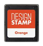 407008 Orange Ink Pad for Design Stamp 1 3/4 x 2
