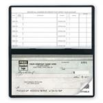 51200N Compact Size Duplicate Checks Green Marble Design 6 X 2 3/4