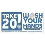 Take 20! Wash Your Hands Stickers 8