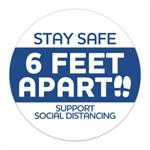 Stay Safe Social Distancing Stickers 3