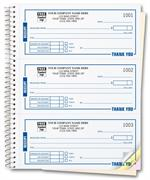696 Receipts High Impact Booked Desk Size 3 To Page 6 3/4 x 8 1/2