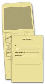 750 Payroll Envelope 3 1/8 x 4 5/8