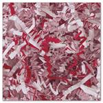 10 lb. Box Candy Cane Blend Crinkle Cut Filler 431-10-CC