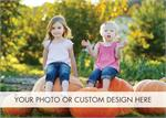 D9006 Fully Customizable Flat Photo Cards Horizontal 7 7/8 x 5 5/8