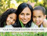 D9008 Horizontal Custom Flat Photo Cards Value Size 5 1/2 x 4 1/4