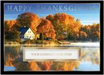 H13668 - N3668 Morning Mist Thanksgiving Holiday Cards 7 7/8 x 5 5/8