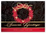 H15604 - N5604 Berry Elegance Holiday Cards 7 7/8 x 5 5/8