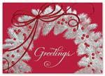 H15618 - N5618 Magical Greetings Holiday Cards 7 7/8 x 5 5/8