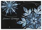 H15622 - N5622 Sparkling Night Sky Holiday Cards 7 7/8 x 5 5/8