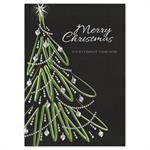 H16609 - N6609 Wildly Whimsical Christmas Holiday Cards 5 5/8 X 7 7/8