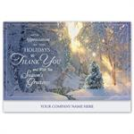 H16631 - N6631 Magical Morning Holiday Cards 7 7/8 x 5 5/8