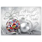 H16656 - N6656 Worldwide Wishes Holiday Cards 7 7/8 x 5 5/8